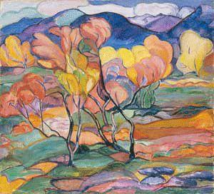 Sigrid Hjerten (1885-1948): Färgskräll