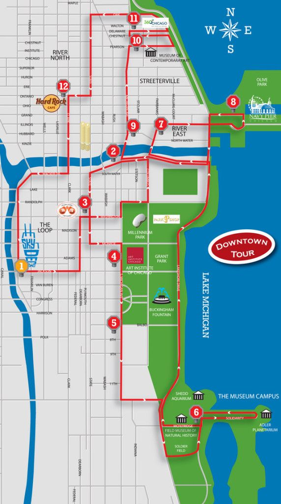Chicago Bus Tour Comparison! Find the right tour for you based on price and experiences.