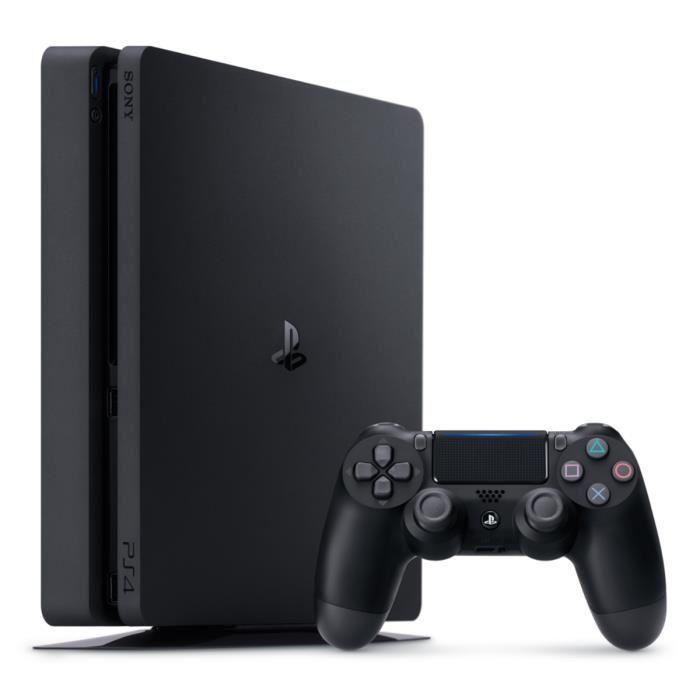 CONSOLE PS4 NOUVEAUTÉ Nouvelle PS4 Slim Noire 500 Go