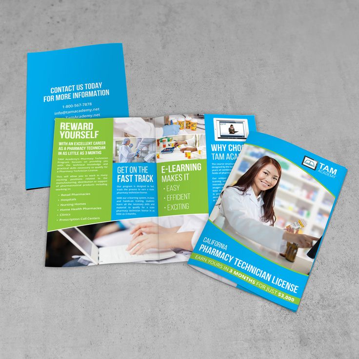 Best Top Pharmacy Brochure Design Templates Images On