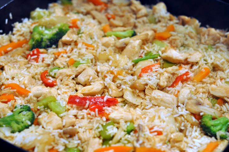 Quick & Easy Stir Fry Chicken