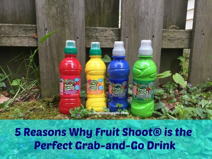 5 Reasons Why Fruit Shoot® is the Perfect Grab-and-Go Drink