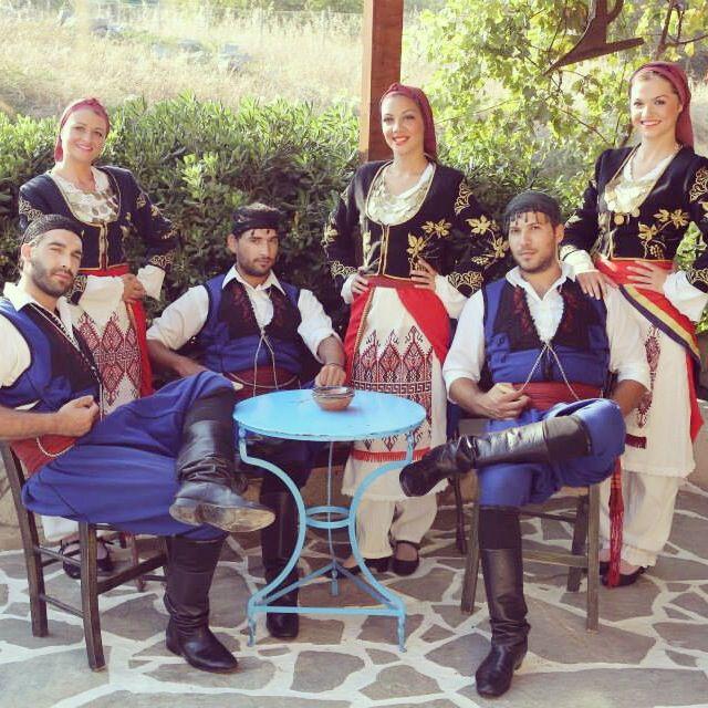 Cretan boys and girs