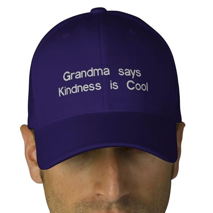 Grandma says, kindness is coo