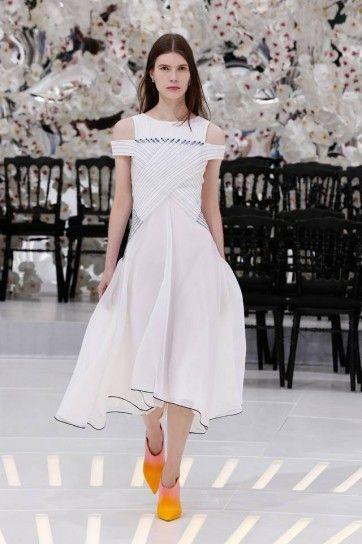 Abito bianco Dior