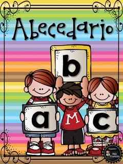 Actividades para Educación Infantil: Carteles ABC con nombres de niñas-os