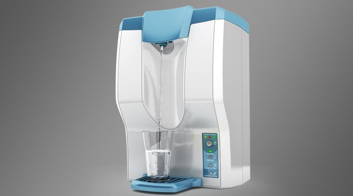 Our compliment to Purity, Eureka Forbes' Infinity, UV Water Purifier:  Design & Engineering by Lumium