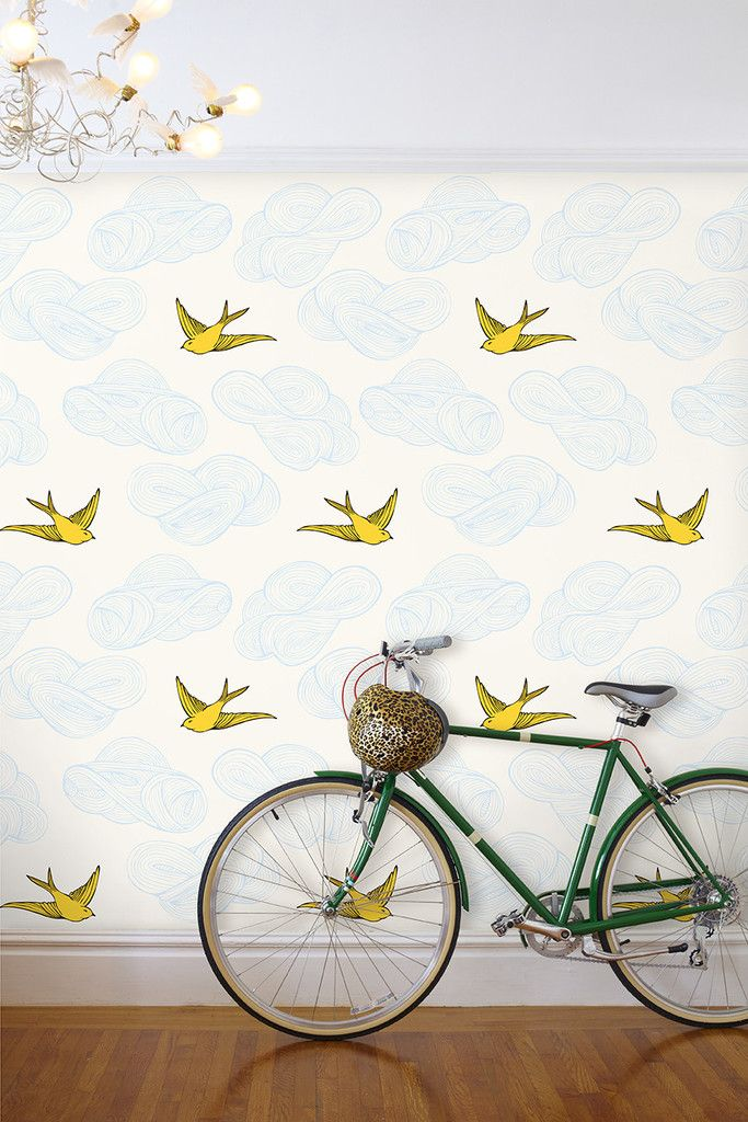 Daydream (Sunshine) – Hygge & West This wallpaper - bathroom, entryway, anywhere really.