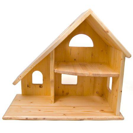 Wooden Dollhouse Chalet