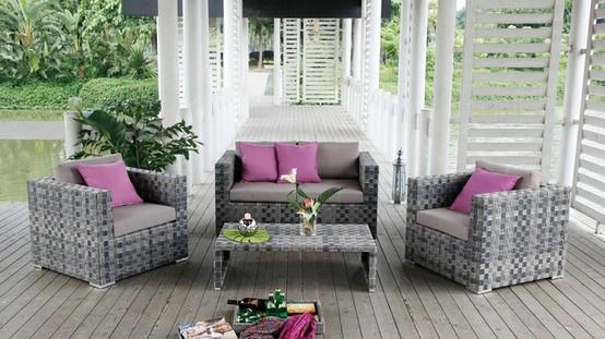 Mejores 14 imágenes de Muebles de jardín en Pinterest | Mimbre ...
