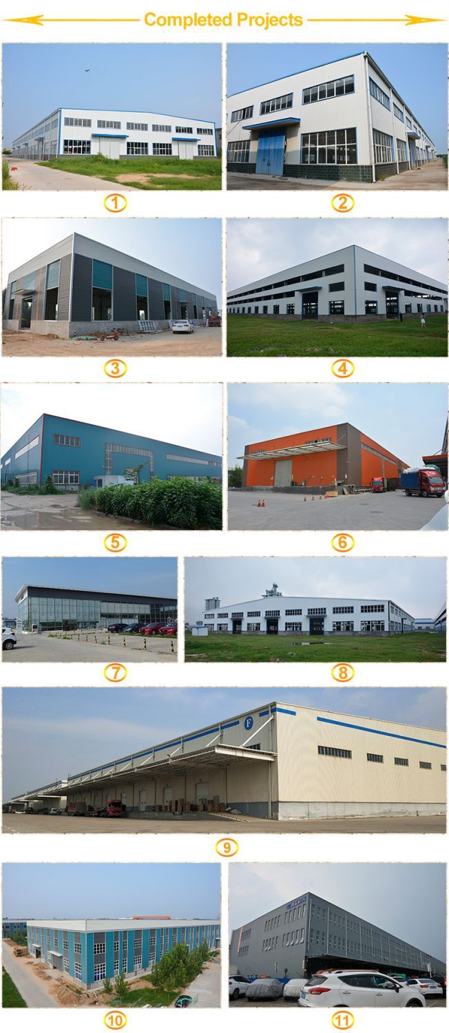 Prefabricated Light Steel Structure Warehouse From China Industrial Sheds Flat Roof Construction Steel Structure