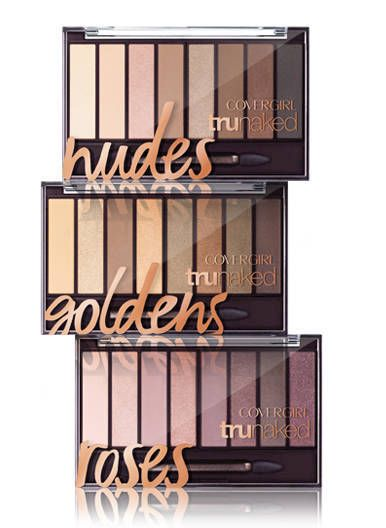 CoverGirl's Goldens TruNaked Eye Shadow Palette has a stunning range of neutral shades for your perfect nude eye look..     NUDE