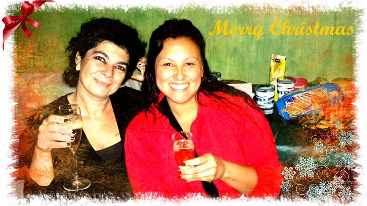 Mery crismas Malena y Patricia