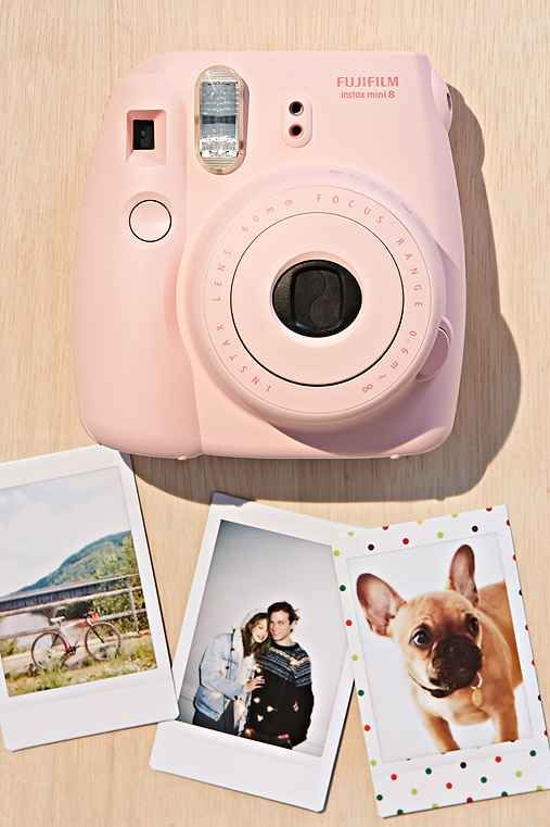 Fuijifilm Instax Mini 8 Instant Camera (color: White, $100)