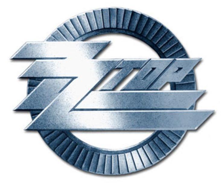 ZZ TOP Circle Logo Cast Badge Official Band Merchandise Merch