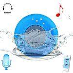 BTS-06 Bluetooth Water Resistant Shower Speaker with Sucker Built-in Lithium Battery