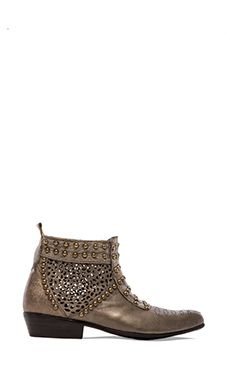 ANINE BING Studded Boots in Grey | REVOLVE