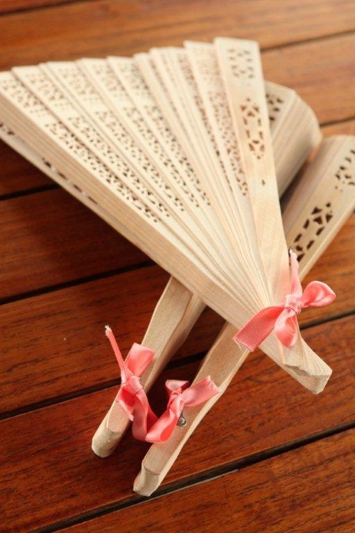 Japanese wedding fans. I have these for my wedding :D