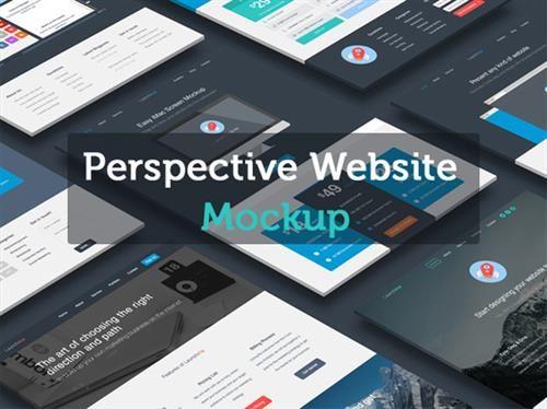 website mockup free