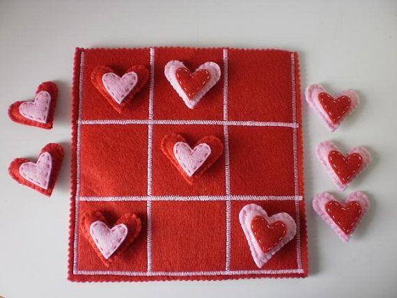 Hearts Tic Tac Toe