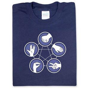 Big Bang!: Rocks Paper Scissors, Lizards Spock, Awesome Shirts, Scissors Lizards, Rock Paper Scissors, Big Bangs Theory, Spock Shirts, Geek Shirts, The Big Bang Theory