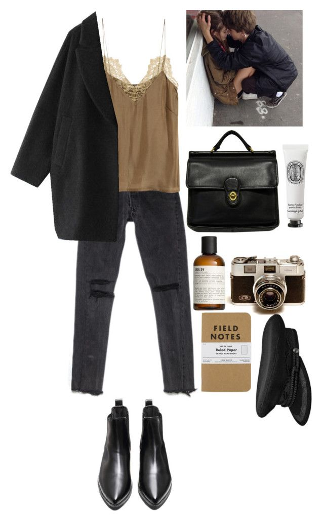 """""""alt er love"""" by rsussher ❤ liked on Polyvore featuring H&M, Enföld, Coach, Diptyque and Le Labo"""