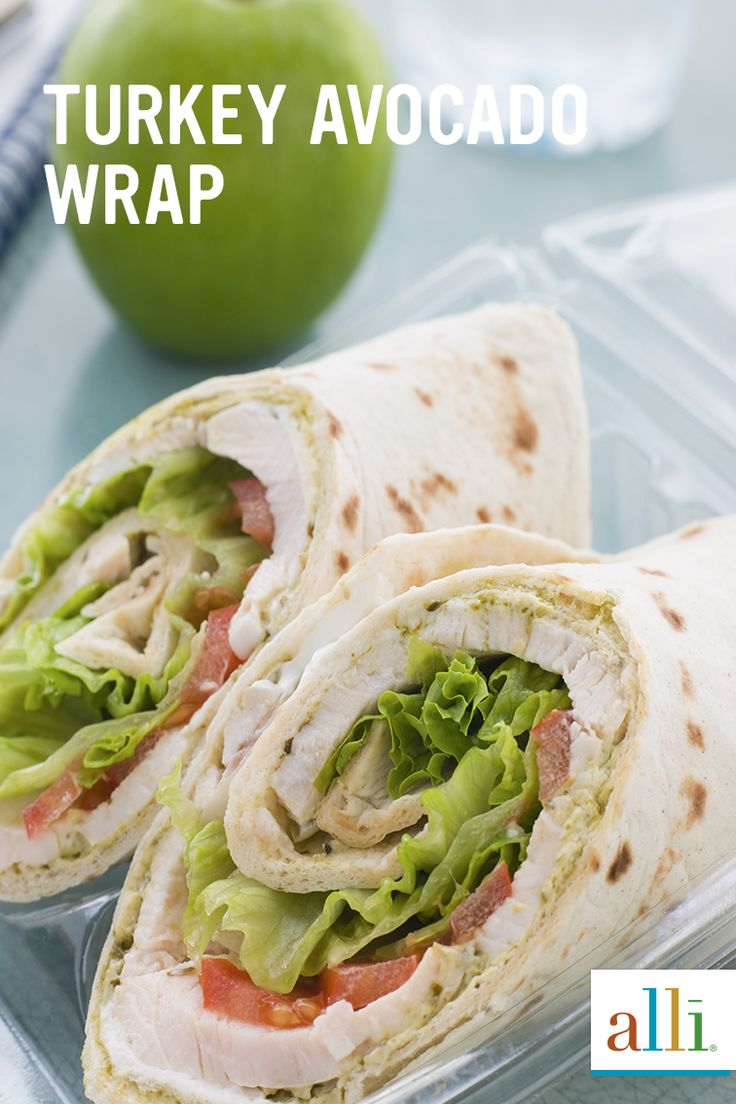 Satisfy those afternoon hunger pangs with a delicious and filling turkey lettuce wrap. Whether it's breakfast, lunch or dinner, find easy meal inspiration and ideas on-the-go for any occasion with creative recipes from alli®. Discover delectable reduced-calorie, low-fat meals from alli® today.