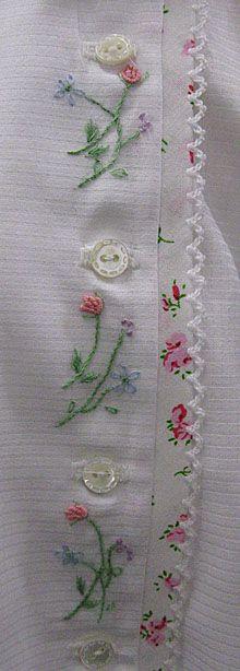 "Ms. Dot's ""Flower Garden"" Baby Dress, Old Fash. Baby Pattern"