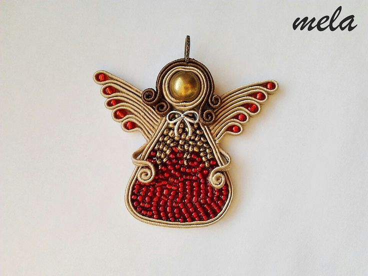 Soutache angel More