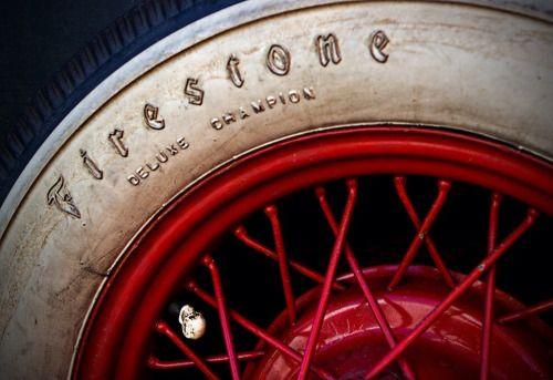 L'authentique pneu #firestone
