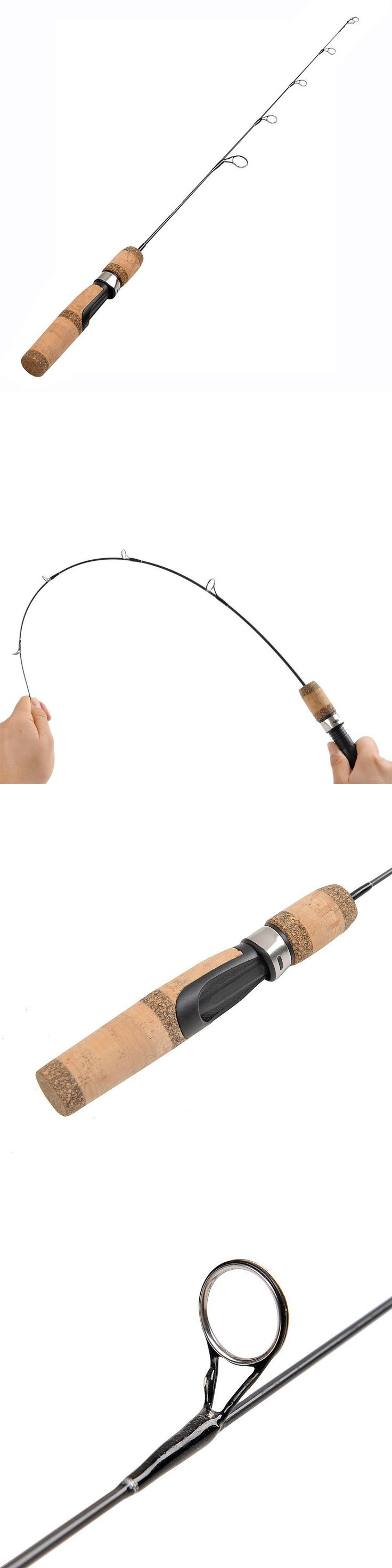 Ice Fishing Rods 179947: Ice Fishing Rod 30 Inch Medium Power Light Strong Sensitive Fish Sport Outdoor BUY IT NOW ONLY: $32.99