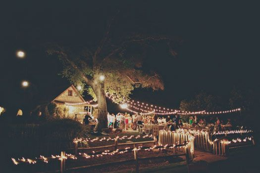 Couture Events: Lauren & Troy Temecula Creek Inn Wedding- Rustic Market Light Reception