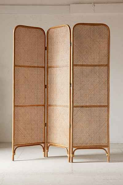 Rattan Screen Room Divider                                                                                                                                                                                 More