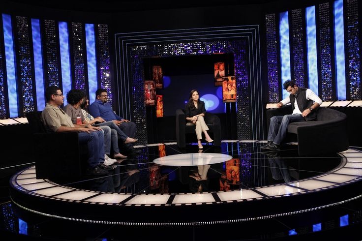 The Front Row panelists discuss superheroes with Anupama Chopra and Ranbir Kapoor