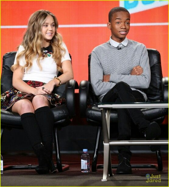 Brec Bassinger and Coy Stewart at the TCA Winter press tour representing Bella And The Bulldogs on Saturday January 10,2015!!!! 5MORE DAYSSS!!!! <333