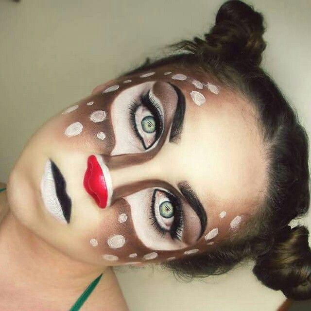 Rudolph makeup