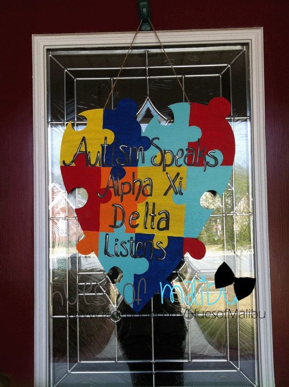 Best Painting Autism Awareness Images On   Autism