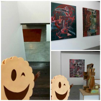 Galería TRINTA en Santiago de Compostela.  #Compostela #SantiagodeCompostela #museo #museos #art #arte #Galicia #GaliciaMola #Spain #turismo #cultura #cookie #happy