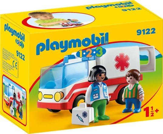 9122 Playmobil Ambulanspatrull
