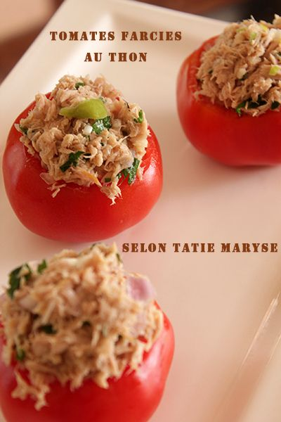 Dans cette recette antillaise, Tatie Maryse vous dévoile ses astuces pour des tomates farcies au thon comme vous n'en avez jamais goûtées !