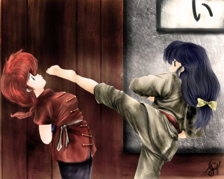 Ranma 1/2 Ah memories.