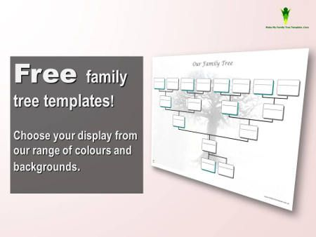 interactive family tree template - 17 best images about free family tree templates on