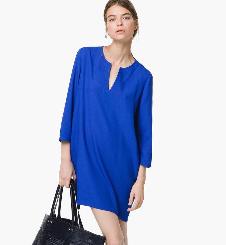 Robe bleu electrique les petites