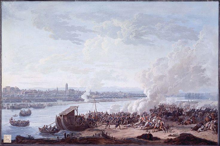 I francesi passano il Po a Piacenza, 7 maggio 1796