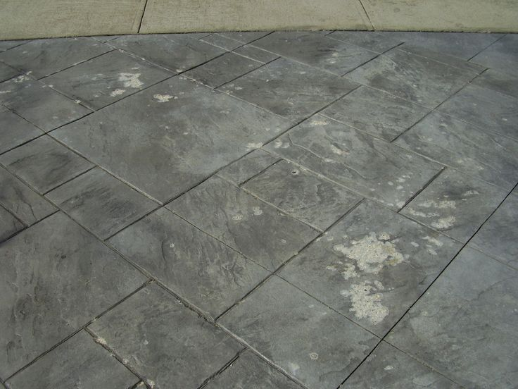Stamped Concrete Sealing And Repair.