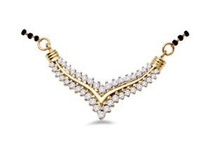 Antra #diamond #gold #mangalsutra