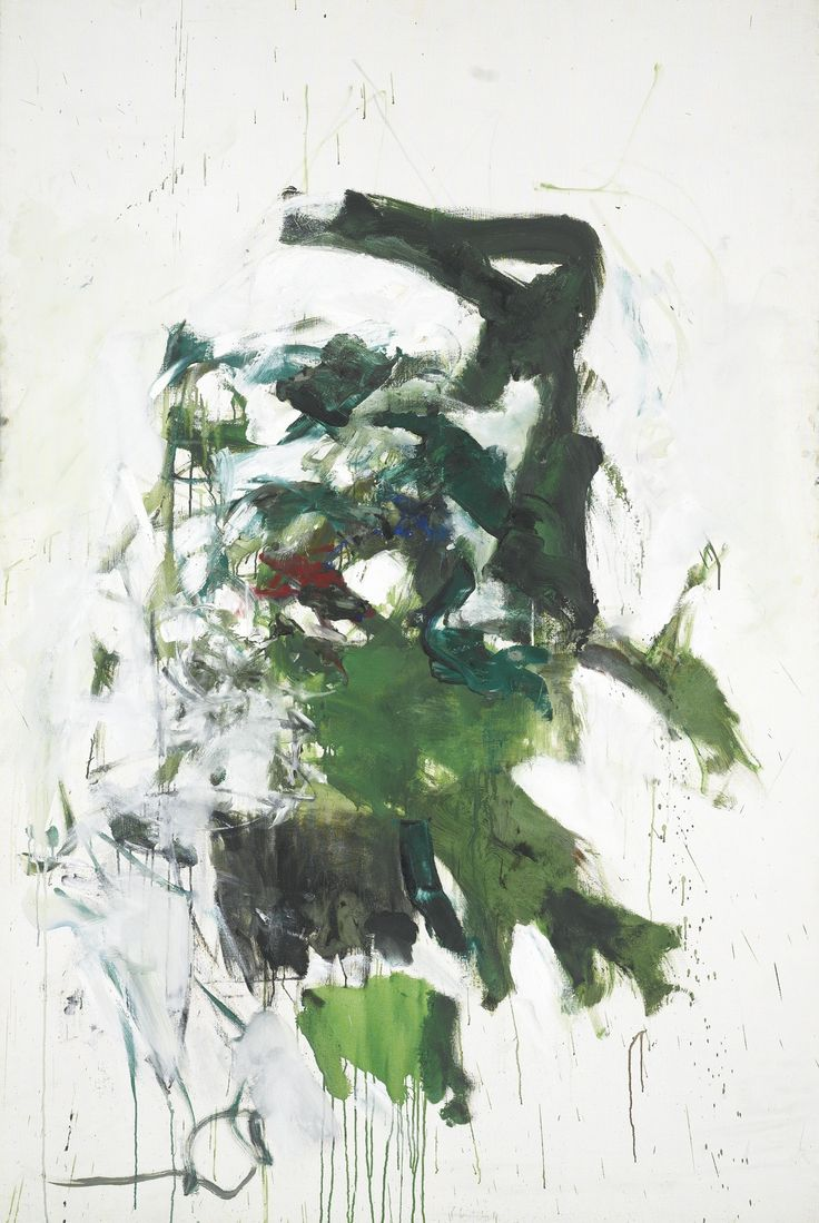 blastedheath:  Joan Mitchell (American, 1925-1992), My Plant, 1966. Oil on canvas, 194.3 x 130.2 cm.