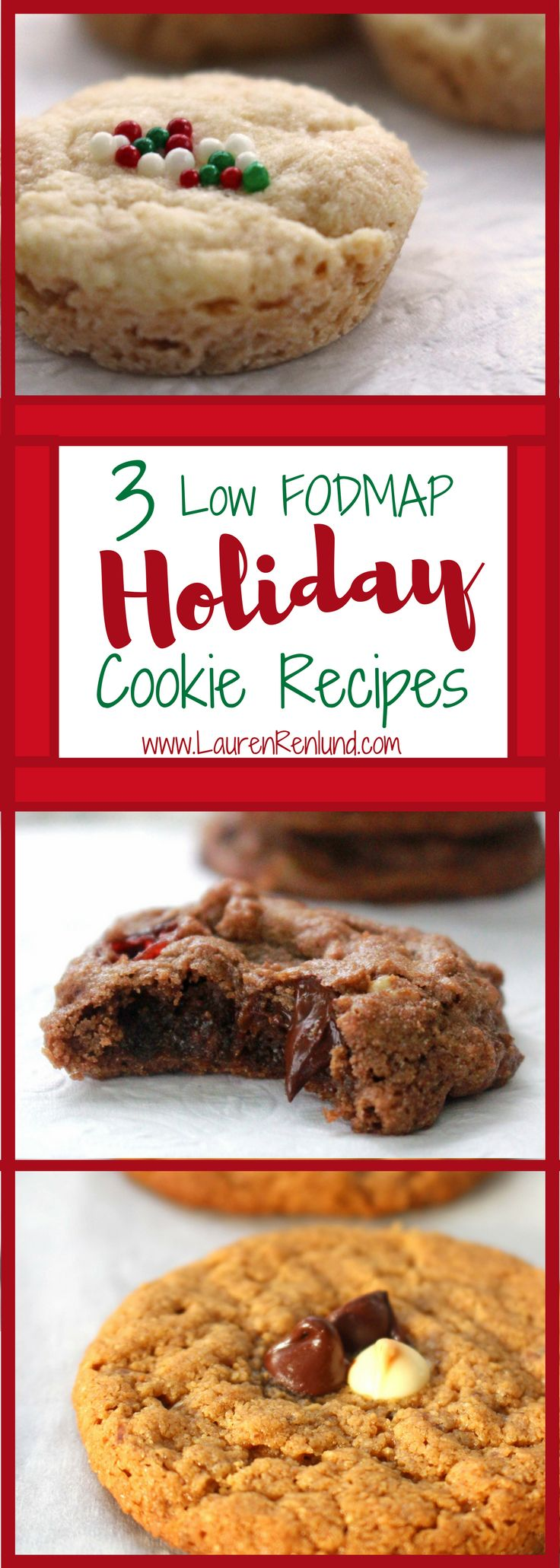 Low FODMAP Holiday Cookies