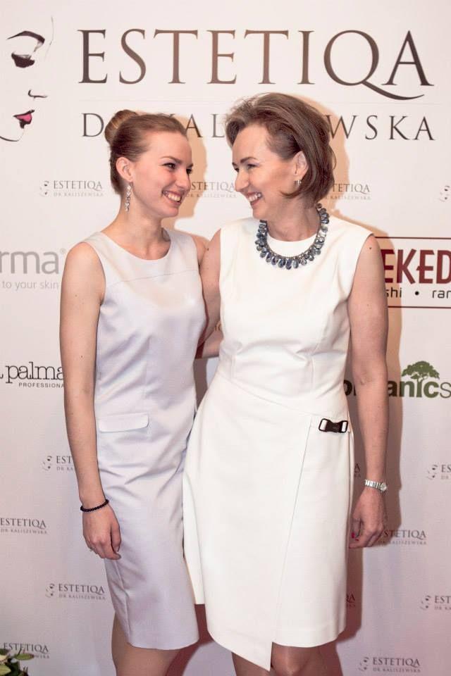 Dr Anna Kaliszewska z córką Iwoną