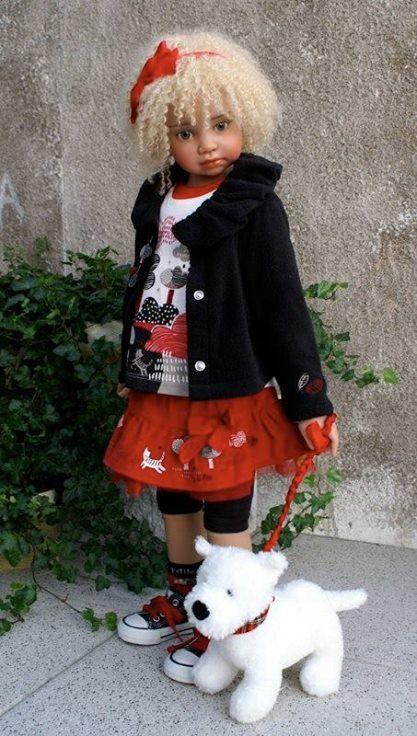 Angela doll: